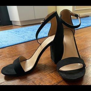A New Day Black Block Heels